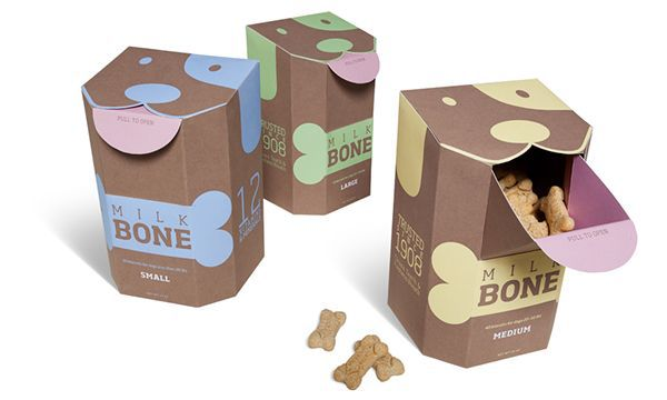 boxes for e-commerce dog food packaging design