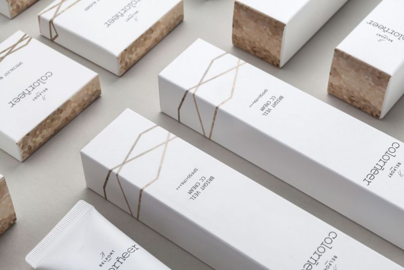 boxes with imprint colorneer