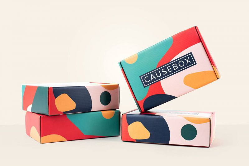 colorful packaging causebox