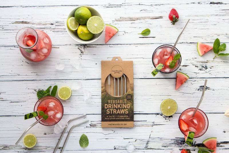 Eco-friendly boxes for reusable straws and not only