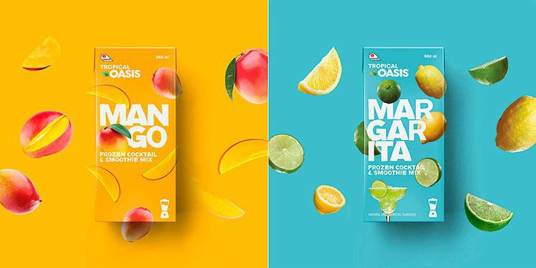 innovative packaging tropical oasis