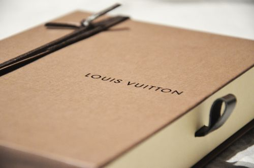 Louis vitton packaging